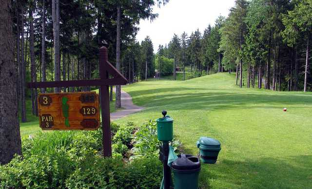 A view from the 3rd tee at Luck Golf Course