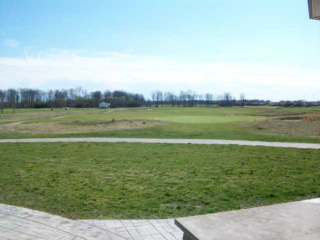 A sunny day view from The Links at Heartland Crossing