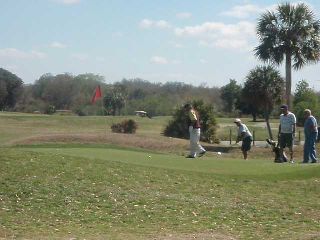 A view of a green at Point O'Woods Golf Club