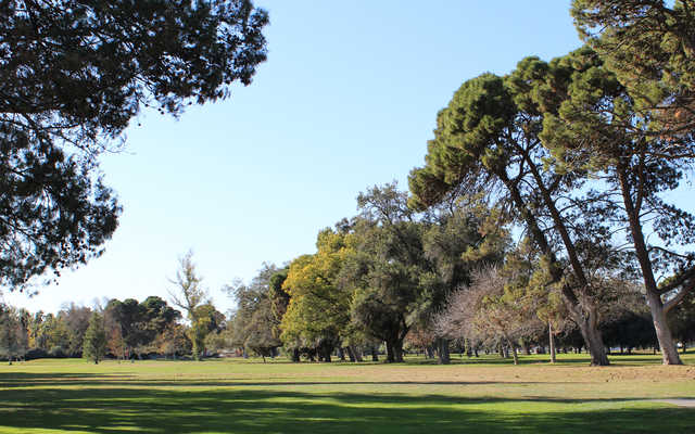A view from tee #1 at Modesto Golf Course