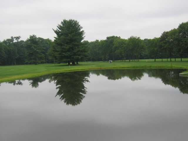 A view over the water from Sweet Water Golf Course