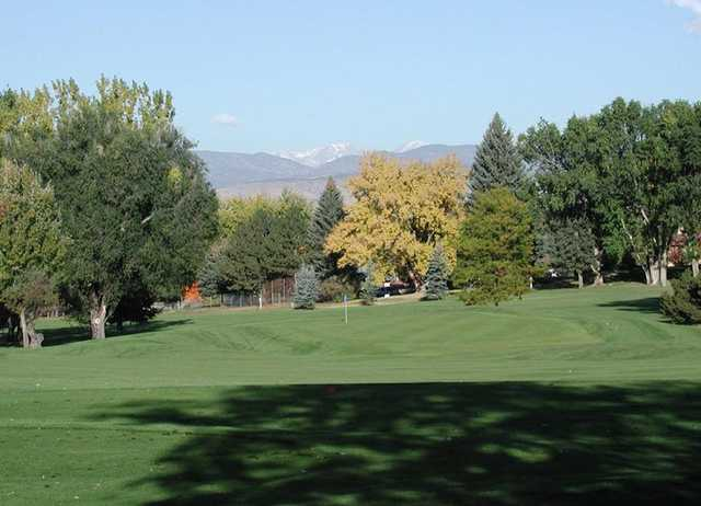 A sunny day view from Sunset Golf Course