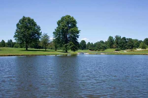 A view over the water from Candywood Golf Club
