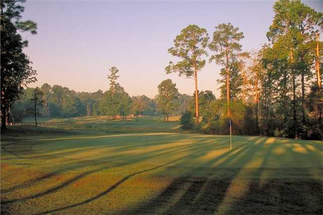 A view of a green at Brazell's Creek Golf Course