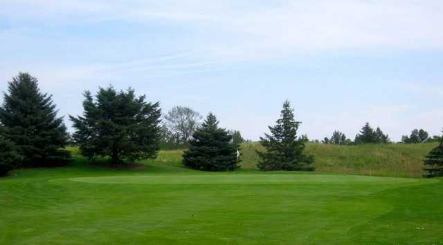 A view of a hole at White Hawk from Chippewa Creek Golf and Country Club