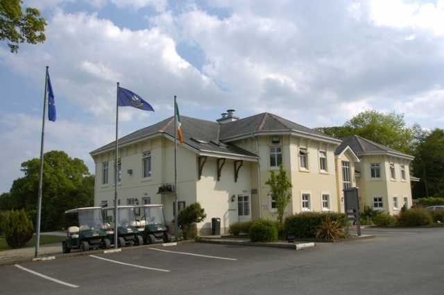 A view of the clubhouse at Letterkenny Golf Club