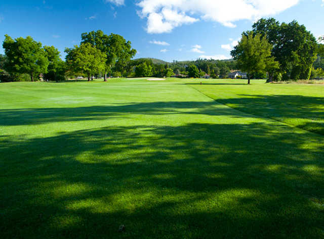 A view from Hidden Valley Lake Golf Course