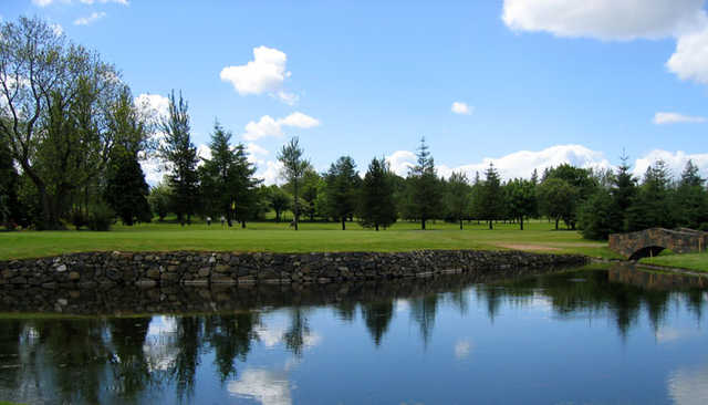 Ballyclare Golf Club: 11th green