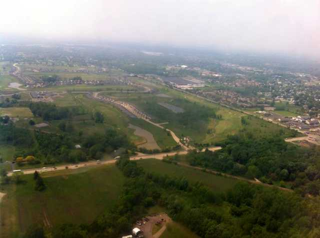 Aerial view from Links at Gateway.