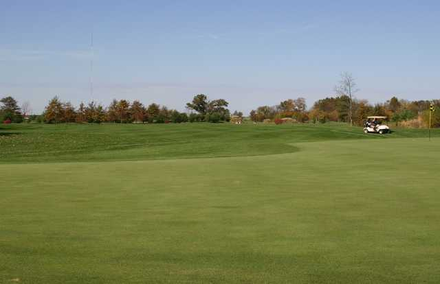 A view of the 5th hole at Championship from Governors Run Golf & Country Club