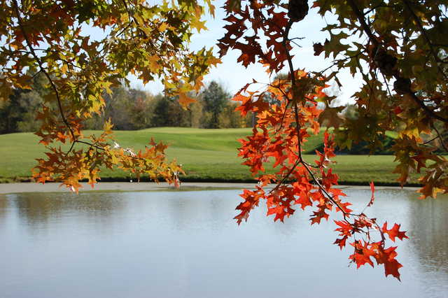 A view over the water from Governors Run Golf & Country Club