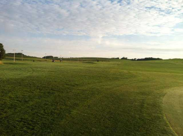 A view of a fairway at Deertrak Golf Club