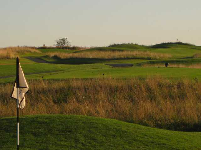 A view from a green at Wyncote Golf Club