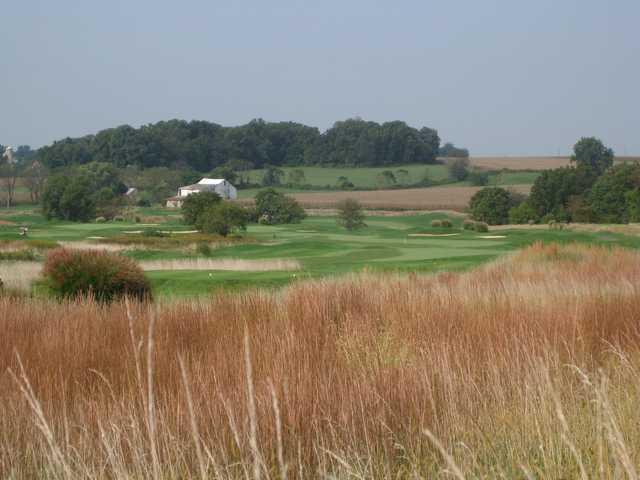 A view from Wyncote Golf Club