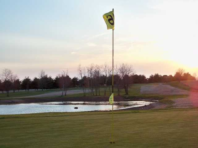 A view of the 16th hole at The Pines from Lindsey Wilson