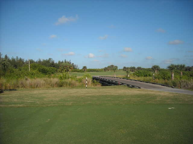 A view over a bridge at Cape Royal Golf Club