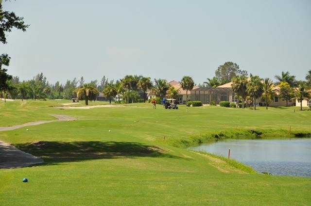 A view from the 1st tee at Queen from Cape Royal Golf Club