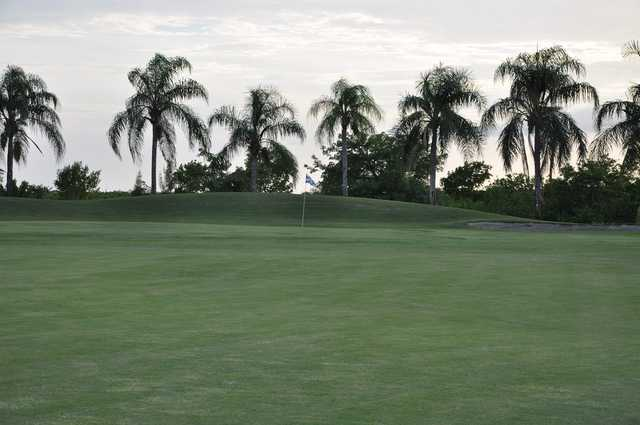 A view of the 5th hole at Queen from Cape Royal Golf Club