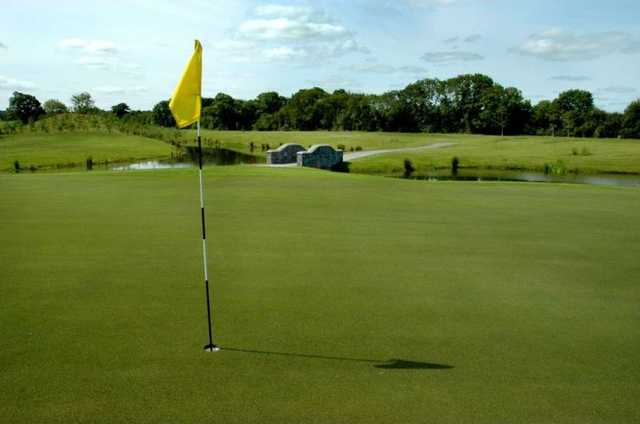 A view of the 9th hole at Roganstown Golf & Country Club