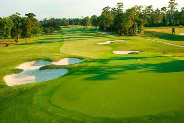 A view of the 6th hole at Member Course from Golf Club of Houston