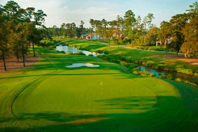 A view of green #14 at Member Course from Golf Club of Houston