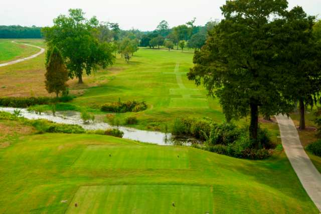 A view from tee #2 at Member Course from Golf Club of Houston
