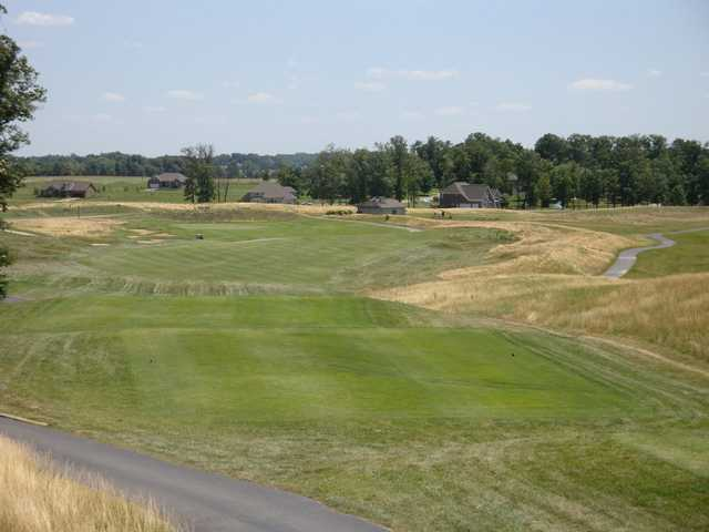 A view from Cambridge Golf Club