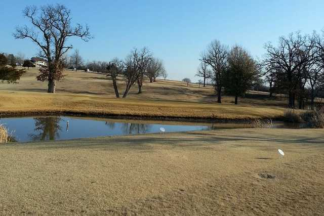A view of a tee at Buffalo Rock Golf & Venue