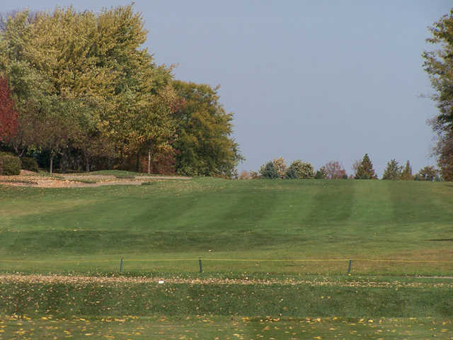 A view of a fairway at Bloomingdale Golf Course