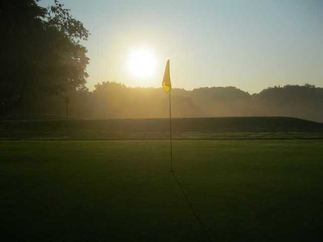 A morning view of the 14th green at Forest Park Golf Course (Frank A Kotnik Jr.)