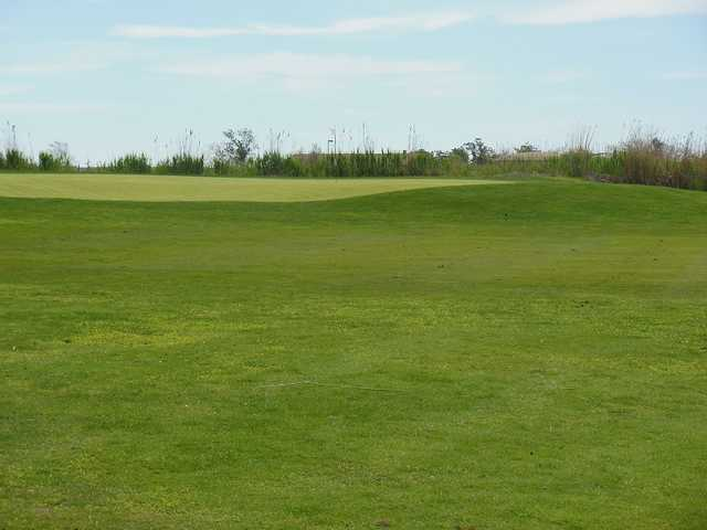 A view of the 17th green at Lido Golf Club