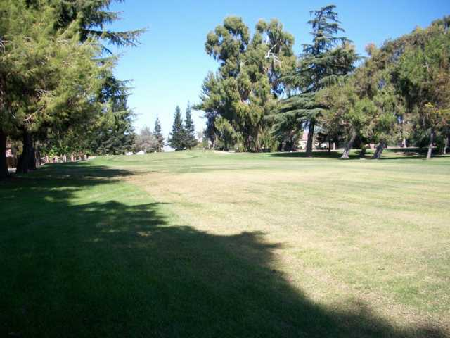 A view from the left side of fairway #2 at Elkhorn Country Club