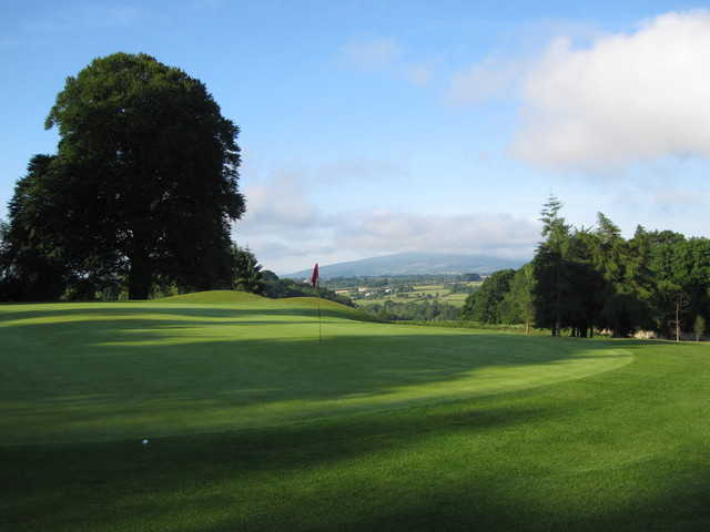 View from 1st Green Borris Golf Club (Art O'Leary)
