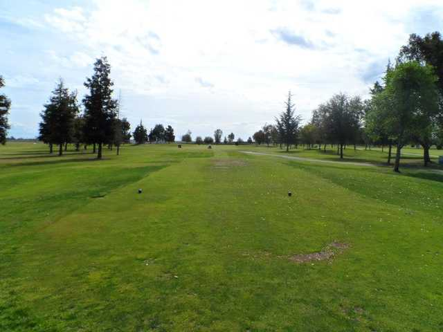A view from tee #1 at Madera Golf Course