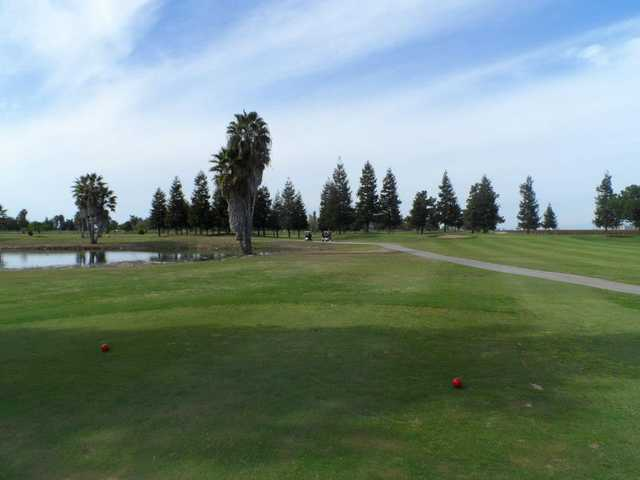 A view from the 15th tee at Madera Golf Course