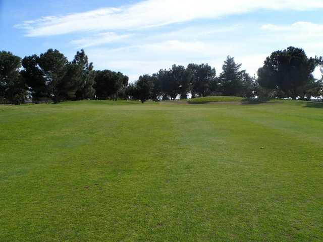 A view of the 10th hole at Madera Golf Course