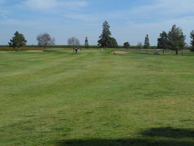 A view from fairway #5 at Madera Golf Course