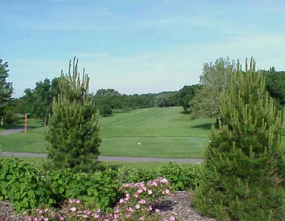A view of tee #6 at Big Run Golf Club