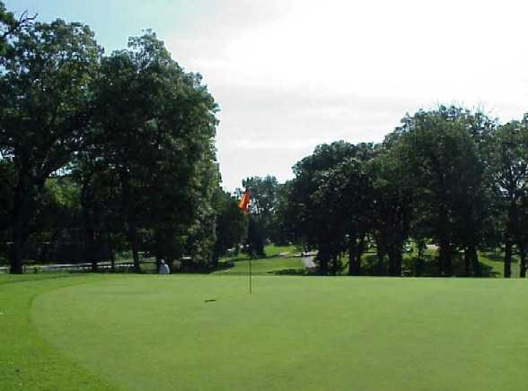 A view of the 7th green at Big Run Golf Club