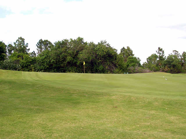 A view of green #11 at Sebastian Golf Course