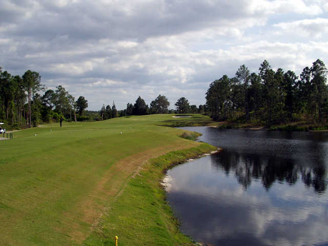 A view of tee #14 at Sebastian Golf Course
