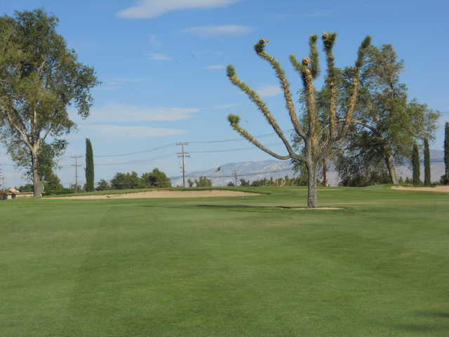 A view from fairway #13 at Apple Valley Golf Course