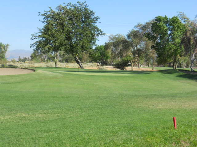 A view of the 12th hole at Apple Valley Golf Course