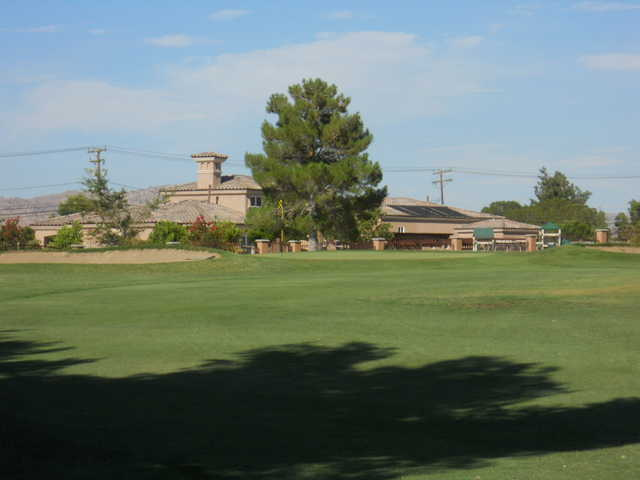 A view of the 8th hole at Apple Valley Golf Course