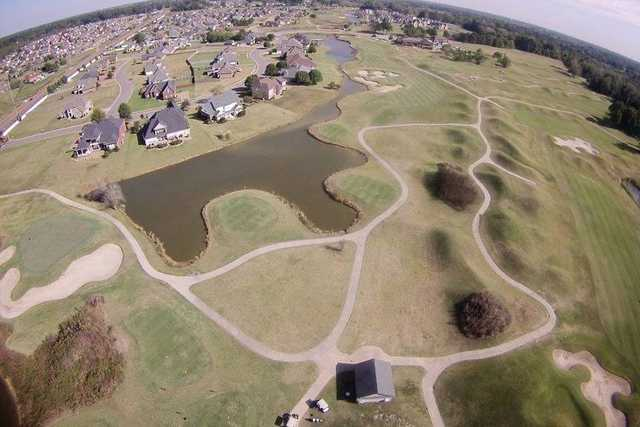 Aerial view from North Creek Golf Course