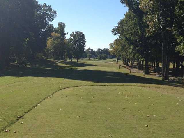 A view from tee #10 at Wedgewood Golf Course