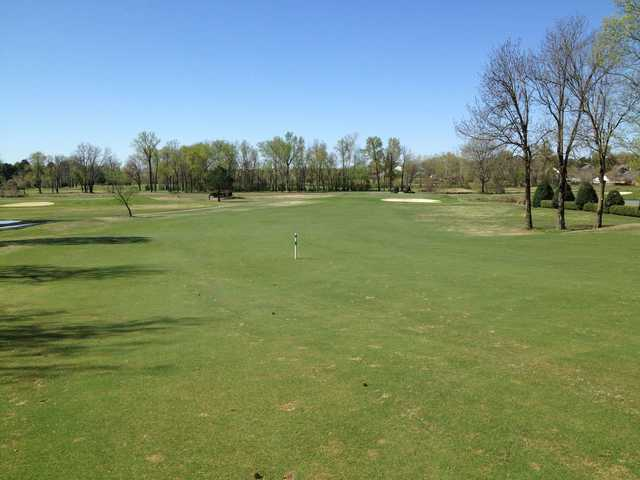 A view of a faiway at Wedgewood Golf Course