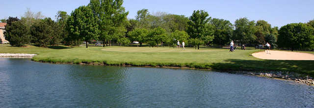 A view over the water from Shiloh Park Golf Course