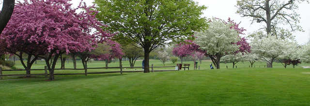 A spring view from Shiloh Park Golf Course.