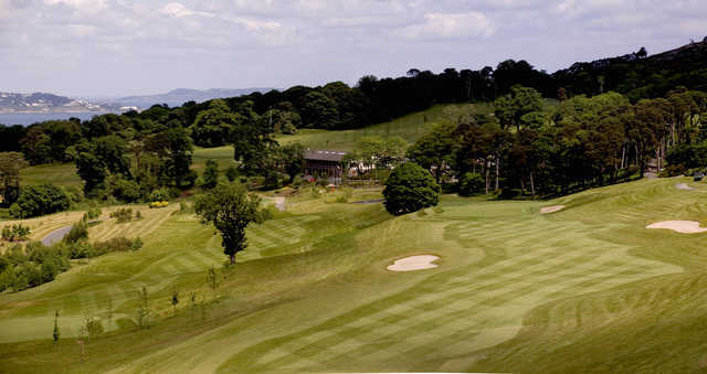View from Bray GC: 1st, 3rd & Clubhouse (Alan Threadgold)
